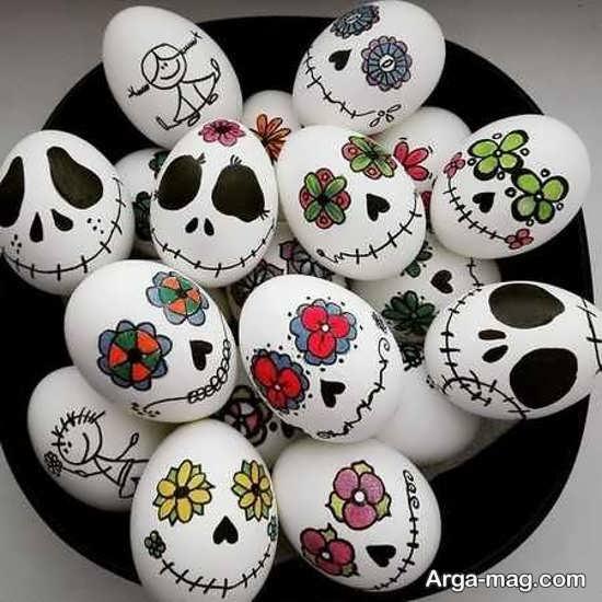 نقاشی تخم مرغ با طرح جدید