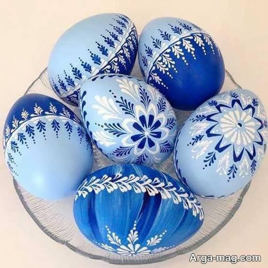 نقاشی تخم مرغ با طرح عالی
