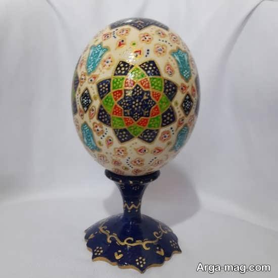 نقاشی دوست داشتنی تخم مرغ هفت سین