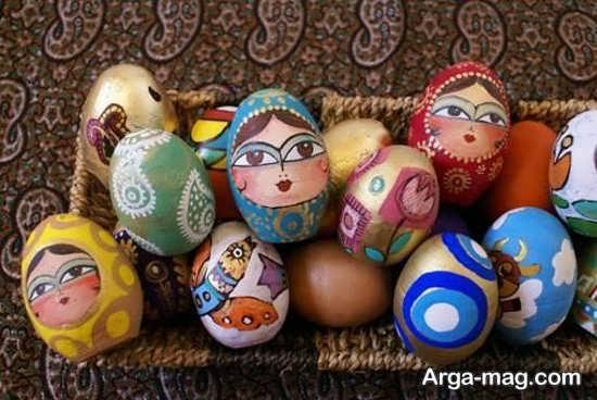 نقاشی فوق العاده تخم مرغ هفت سین