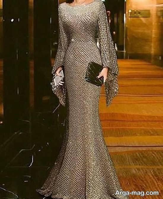 قشنگ ترین لباس مجلسی مدل ماهی
