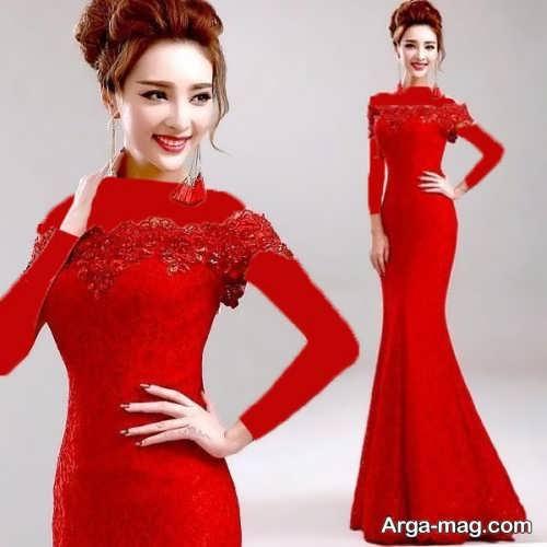 مدل لباس مجلسی دخترانه 97 بلند و شیک
