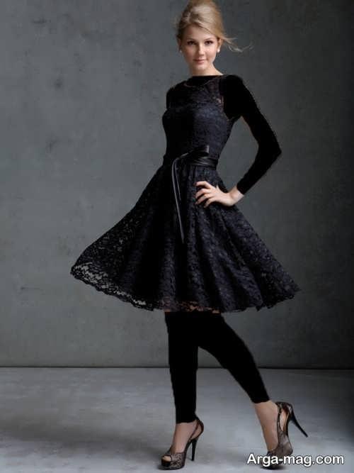 مدل لباس مجلسی مشکی 97