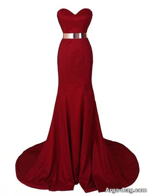 مدل لباس مجلسی بلند و شیک دخترانه