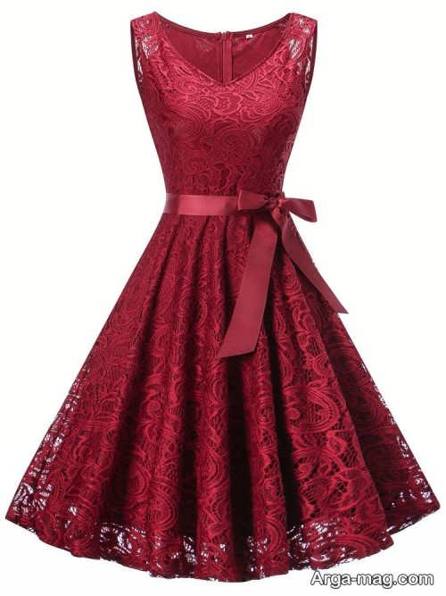 مدل لباس مجلسی کوتاه و زیبا دخترانه