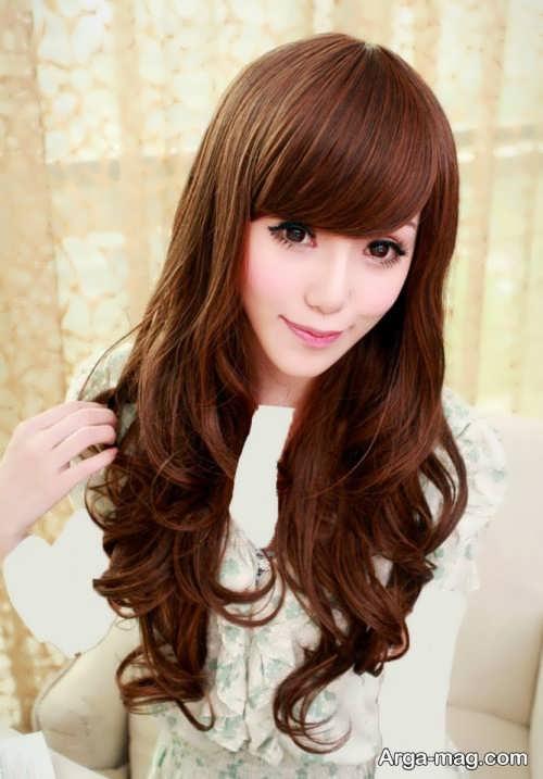 مدل موی بلند و جذاب دخترانه