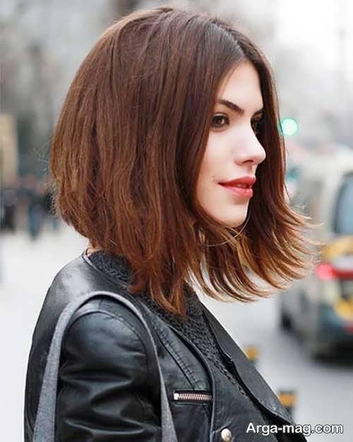 مدل موی شیک و کوتاه