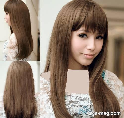مدل موی بلند کره ای دخترانه