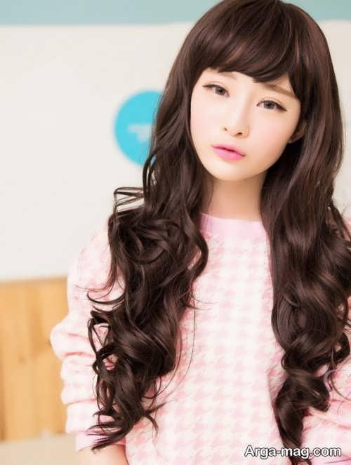 مدل موی کره ای و زیبا دخترانه