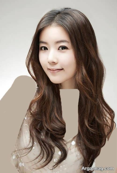 مدل مو دخترانه بلند و ساده