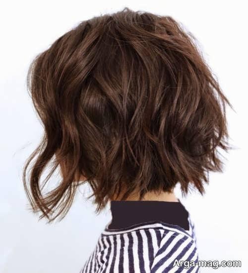مدل موی کوتاه و خاص
