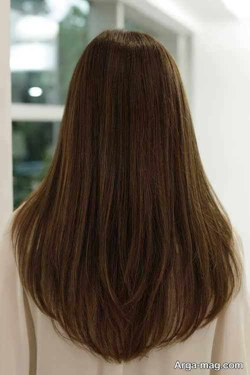 مدل کوتاهی موی بلند دخترانه