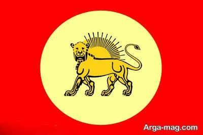 پرچم آغا محمد خان قاجار