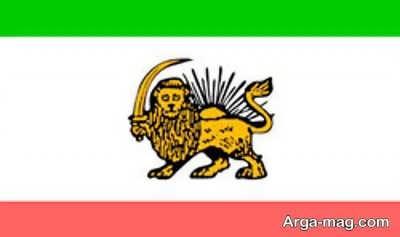 پرچم ایران در زمان کبیر