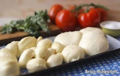 دستور تهیه پنیر موزارلا
