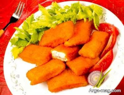 دستور تهیه ناگت ماهی خوشمزه