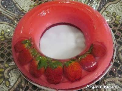 طرز تهیه ژله بستنی میوه ای
