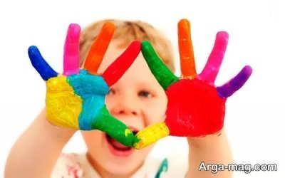 معنای رنگ شاد در نقاشی کودک