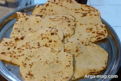 طرز تهیه نان لواش در خانه