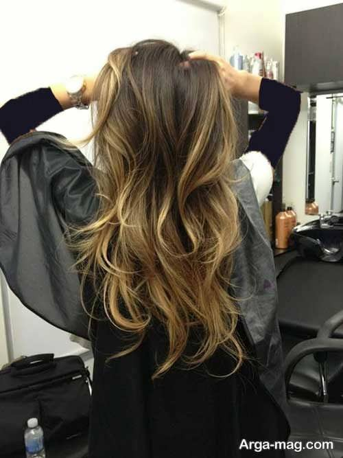 استایل موی بلند زنانه شیک و جدید