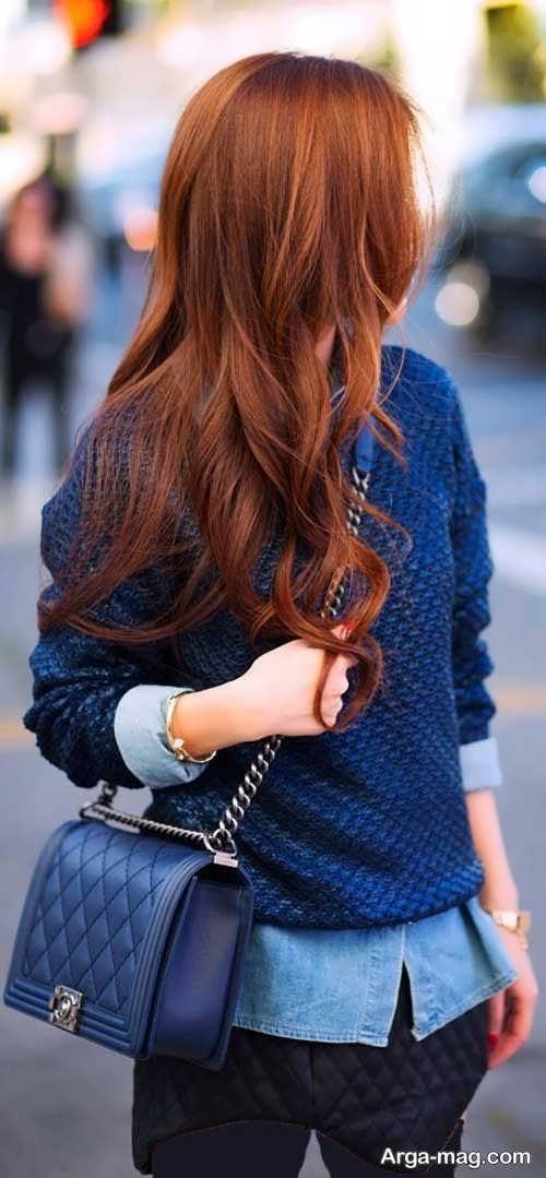 استایل مو بلند دخترانه