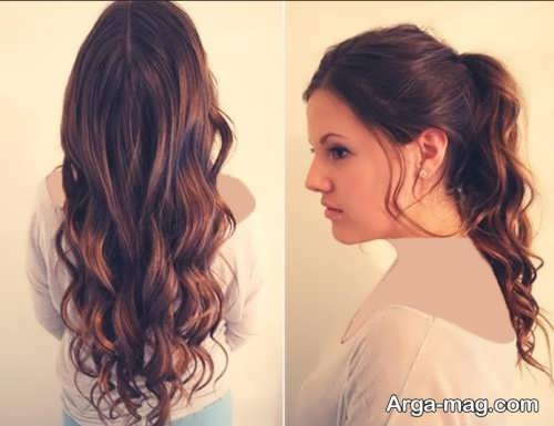 مدل استایل موی فر