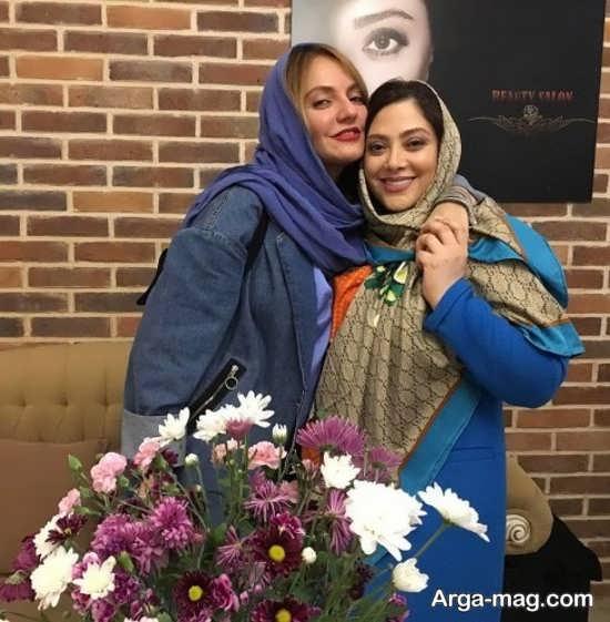 مهناز افشار و مریم سلطانی در سالن زیبایی