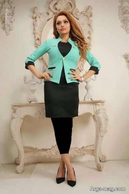 مدل کت سارافون شیک زنانه