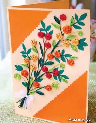 ایده های متفاوت ساخت کارت تبریک عید نوروز