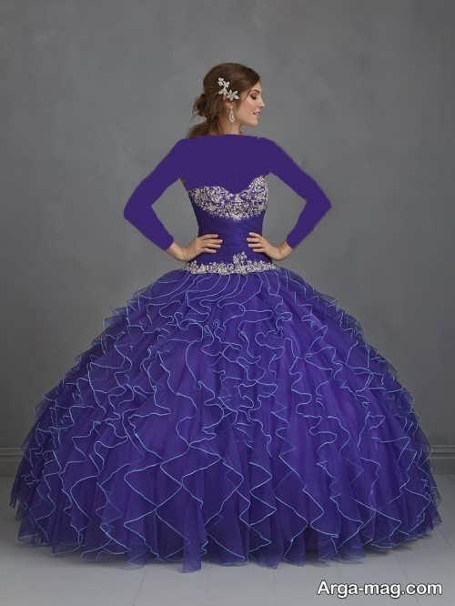 مدل لباس عقد پرنسسی شیک