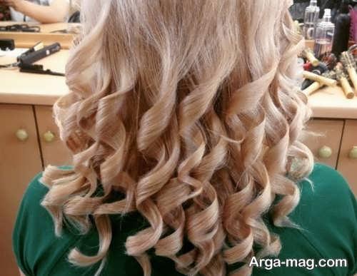براشینگ موی بلند