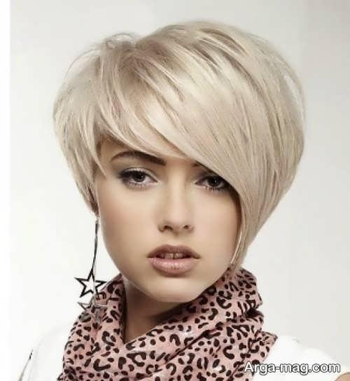 مدل براشینگ برای موهای کوتاه