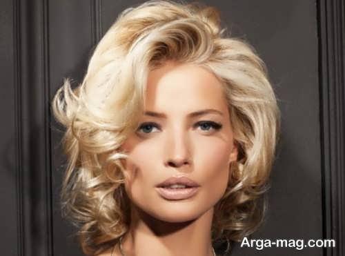 مدل براشینگ مو کوتاه