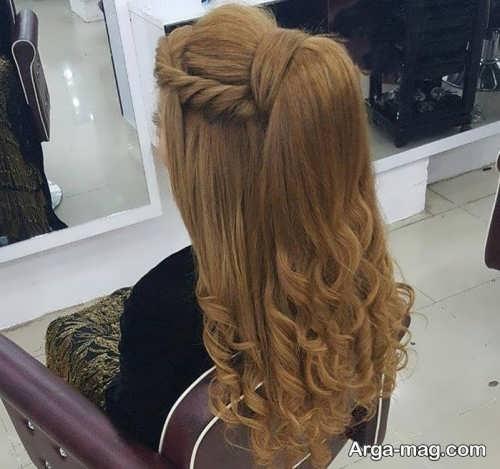 مدل براشینگ موی بلند