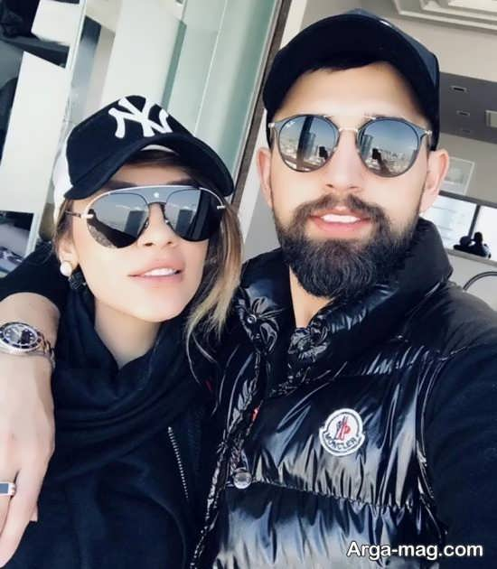 عکس دیدنی محسن افشانی و همسرش سویل