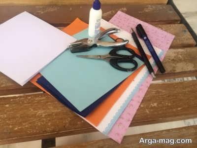 مواد ساخت کارت تبریک نوروز