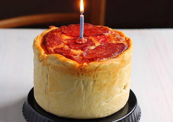 پیتزا هات کیک