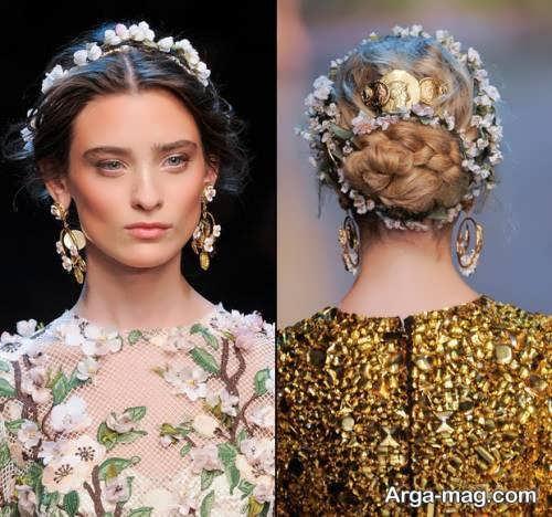 مدل آرایش موی شیک و کلاسیک
