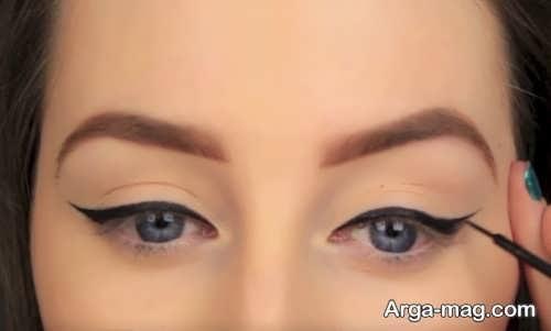 مدل خط چشم ساده شیک و زیبا