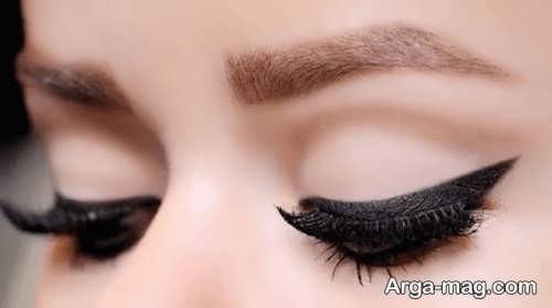 مدل خط چشم ساده زنانه