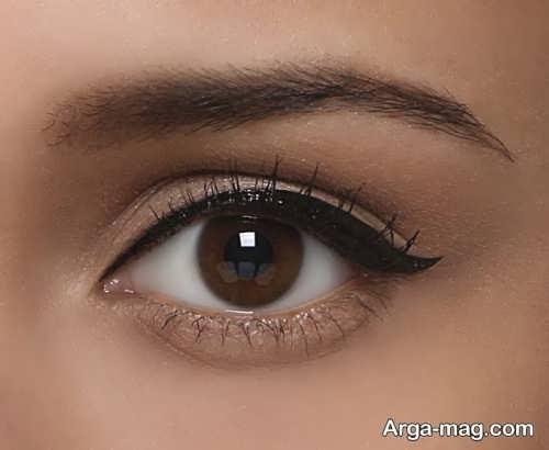 مدل خط چشم ساده