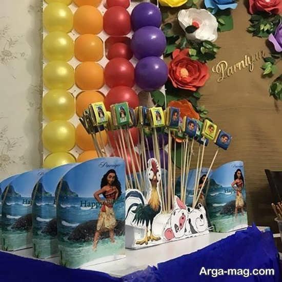 برگزاری جشن تولد با تم موانا