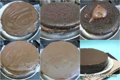 دستور پخت کیک شکلاتی خیس