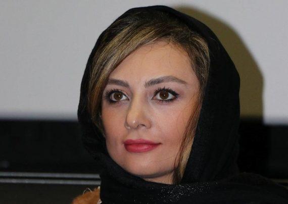 حضور یکتا ناصر و همسرش در سینما آزادی