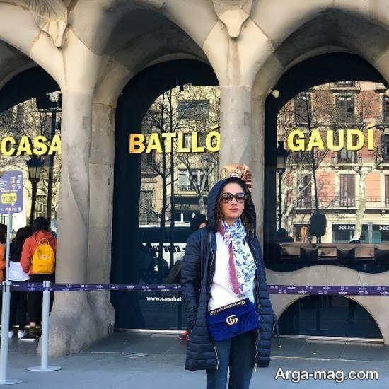 بهاره افشاری در اسپانیا