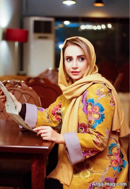 حضور شبنم قلی خانی در اجرای نمایش زیبای هیجده