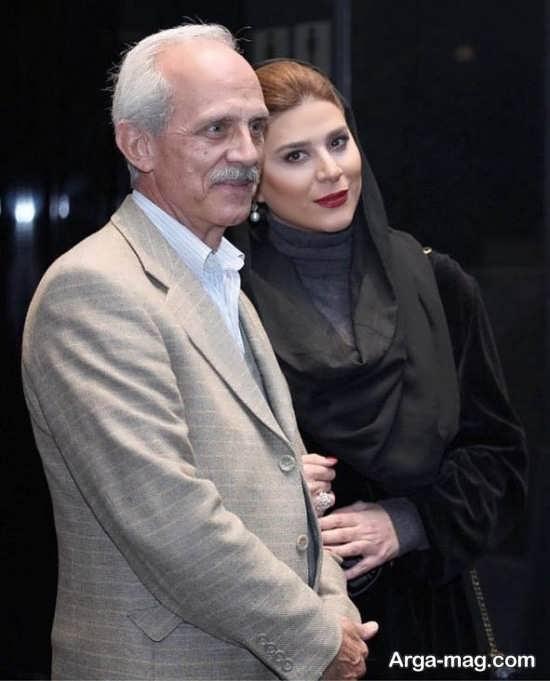 aks 23 2 - عکس منتشر شده از سحر دولتشاهی به همراه پدرش