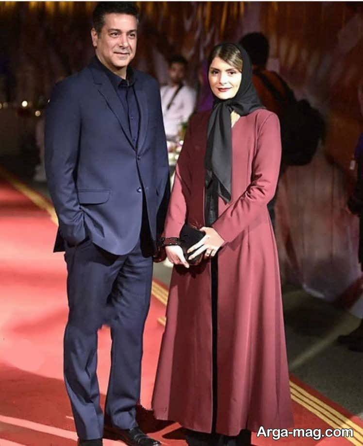 aks 5 5 - حضور حمیدرضا پگاه و همسرش در مراسم با تیپی رسمی
