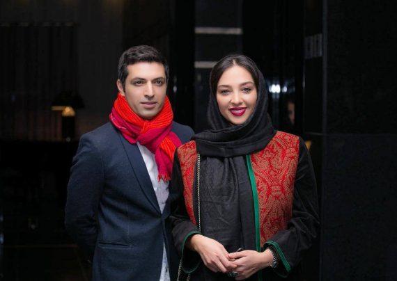 عکس اشکان خطیبی و آناهیتا درگاهی در اکران خصوصی فیلم لاتاری