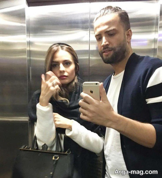 بنیامین بهادری و همسرش